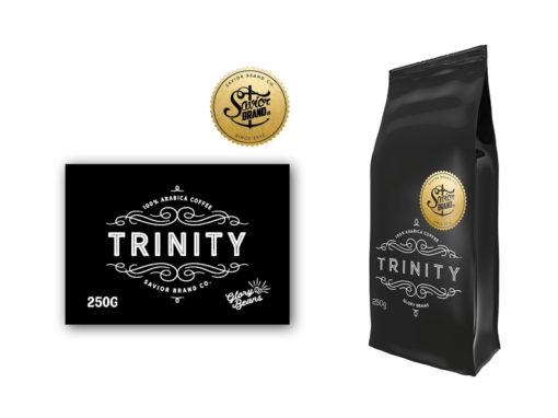 Savior Brand coffee packaging