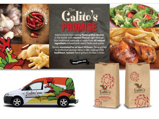 Galito's retail branding