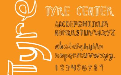 Tyre Center Font