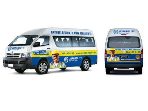 Workability vehicle branding